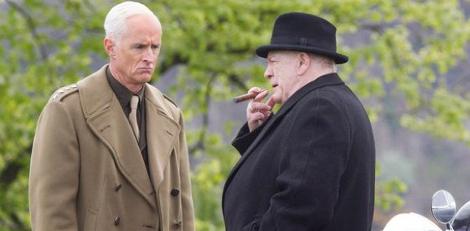 The movie s events stick closely with Sir Winston Leonard Spencer-Churchill  (Brian Cox) ffb5221e1c6e