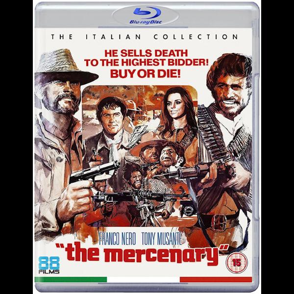 The Mercenary (Il mercenario) Region B   Trailers From Hell
