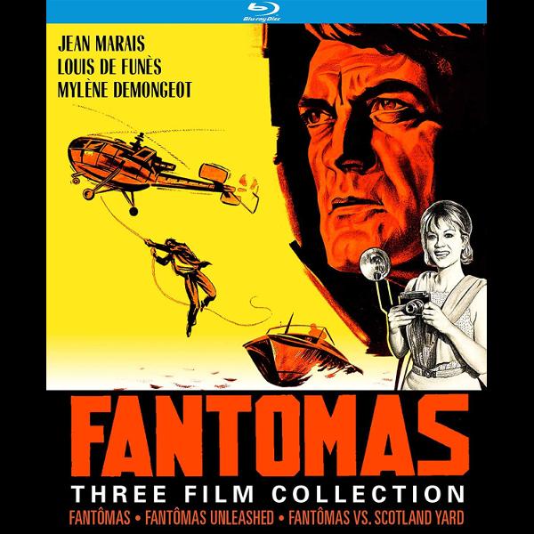 Fantomas Three Film Collection