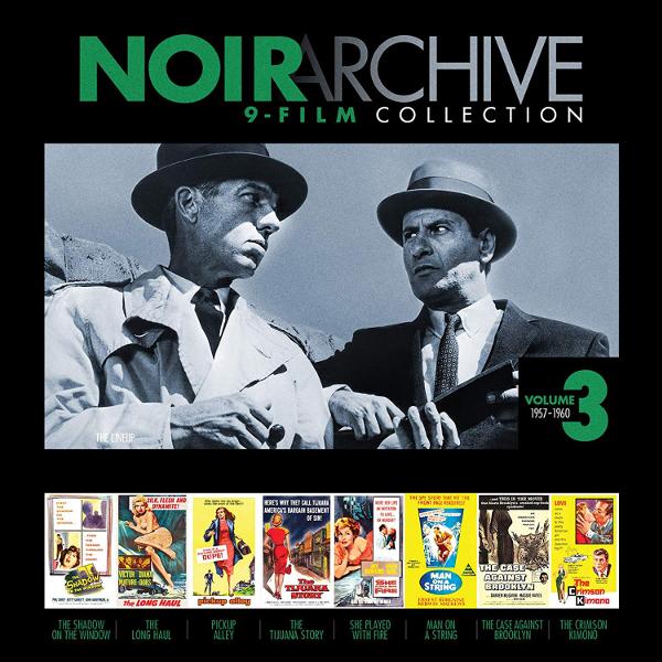 Noir Archive 9-Film Collection Volume 3