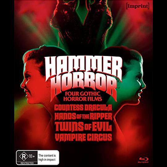 Hammer Horror Four Gothic Horror Films